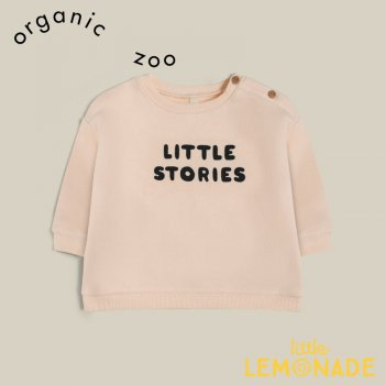【organic zoo】 Little Stories Sweatshirt  【1-2歳/2-3歳/3-4歳】  スウェット トレーナー 長袖 オーガニックズー SBSLS 21AW