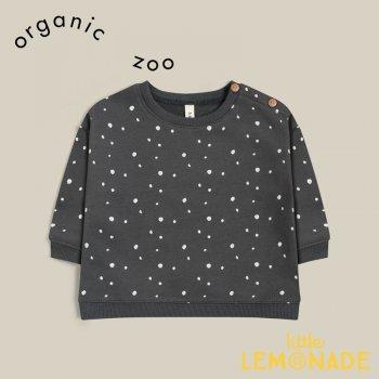 【organic zoo】 Stardust Sweatshirt 【6-12か月/1-2歳/2-3歳/3-4歳】 スウェット トレーナー 長袖 オーガニックズー SDBSOZ 21AW