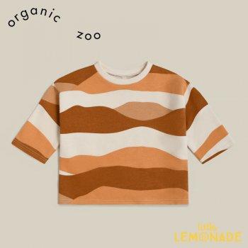 【organic zoo】 Rolling Hills Sand DunesSweatshirt 【1-2歳/2-3歳/3-4歳】 スウェット 縞模様 オーガニックズー RHMBSOZ 21AW