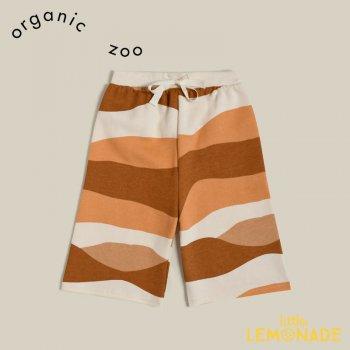 【organic zoo】  Wide Leg Rolling Hills Sand Dunes 【1-2歳/2-3歳/3-4歳】 パンツ 縞模様 オーガニックズー WLRHM 21AW
