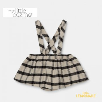 <img class='new_mark_img1' src='https://img.shop-pro.jp/img/new/icons1.gif' style='border:none;display:inline;margin:0px;padding:0px;width:auto;' />【MY LITTLE COZMO】 baby suspender plaid skirt /multi  【12か月 / 24か月 】 (MAR136)  ブルマ付きスカート YKZ 21AW