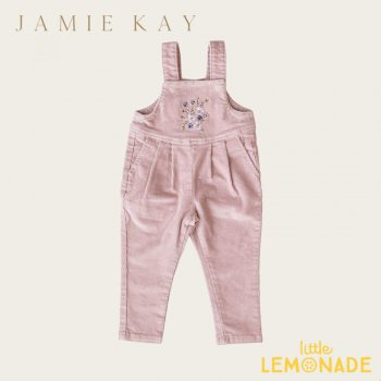 <img class='new_mark_img1' src='https://img.shop-pro.jp/img/new/icons1.gif' style='border:none;display:inline;margin:0px;padding:0px;width:auto;' />【Jamie Kay】  JULIET ONEPIECE - GARDEN ROSE  【1歳/2歳/3歳】  ワンピース オールインワン パンツ ピンク 花 刺繍 ジェイミーケイYKZ