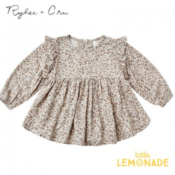 <img class='new_mark_img1' src='https://img.shop-pro.jp/img/new/icons1.gif' style='border:none;display:inline;margin:0px;padding:0px;width:auto;' /> 【Rylee+Cru】 PIPER BLOUSE MAGNOLIA 【12-18か月/18-24か月/2-3歳】 RC142TN 21AW ブラウス 花柄 トップス ykz