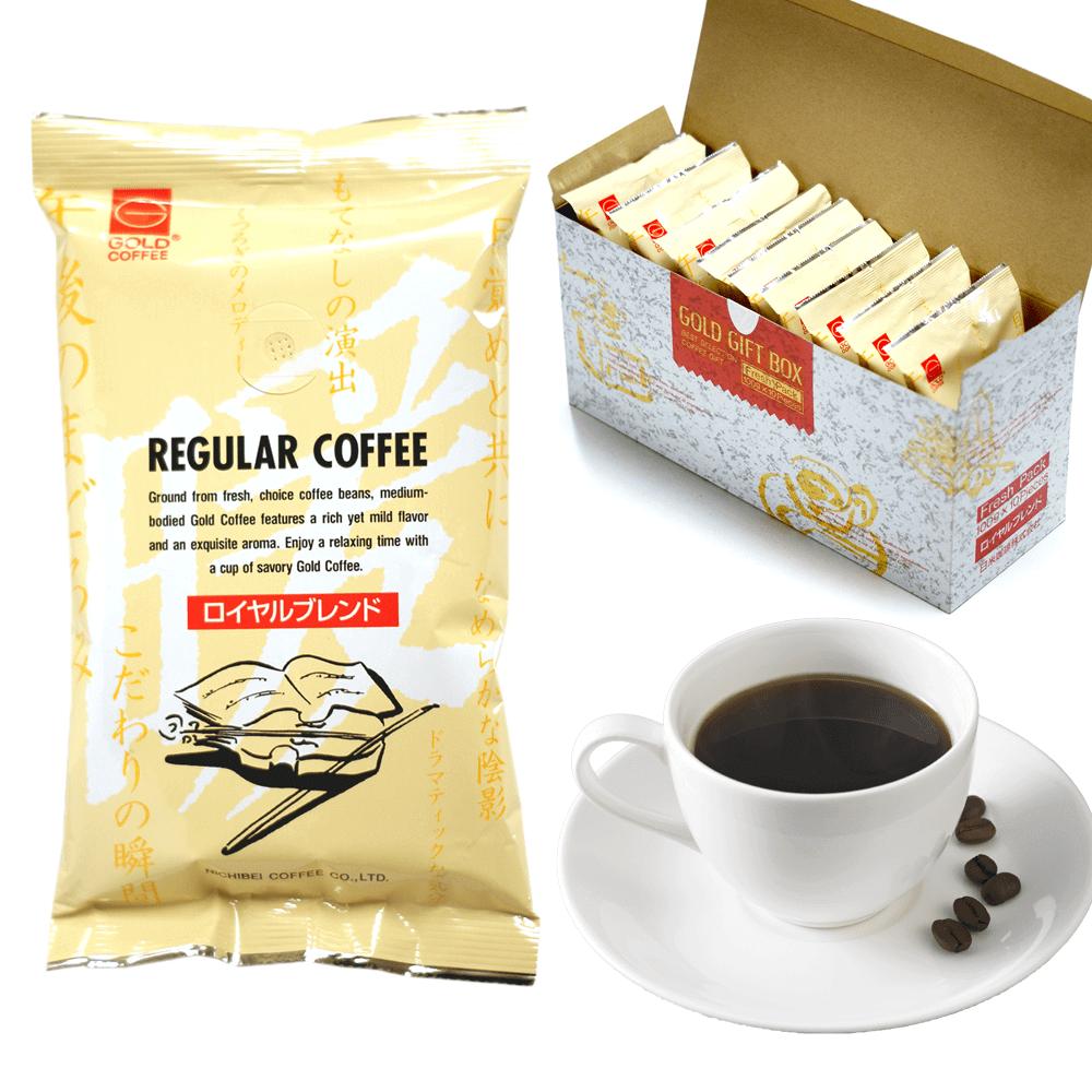 神戸珈琲職人 パック レギュラーコーヒーギフト ロイヤルブレンド(約100杯分)