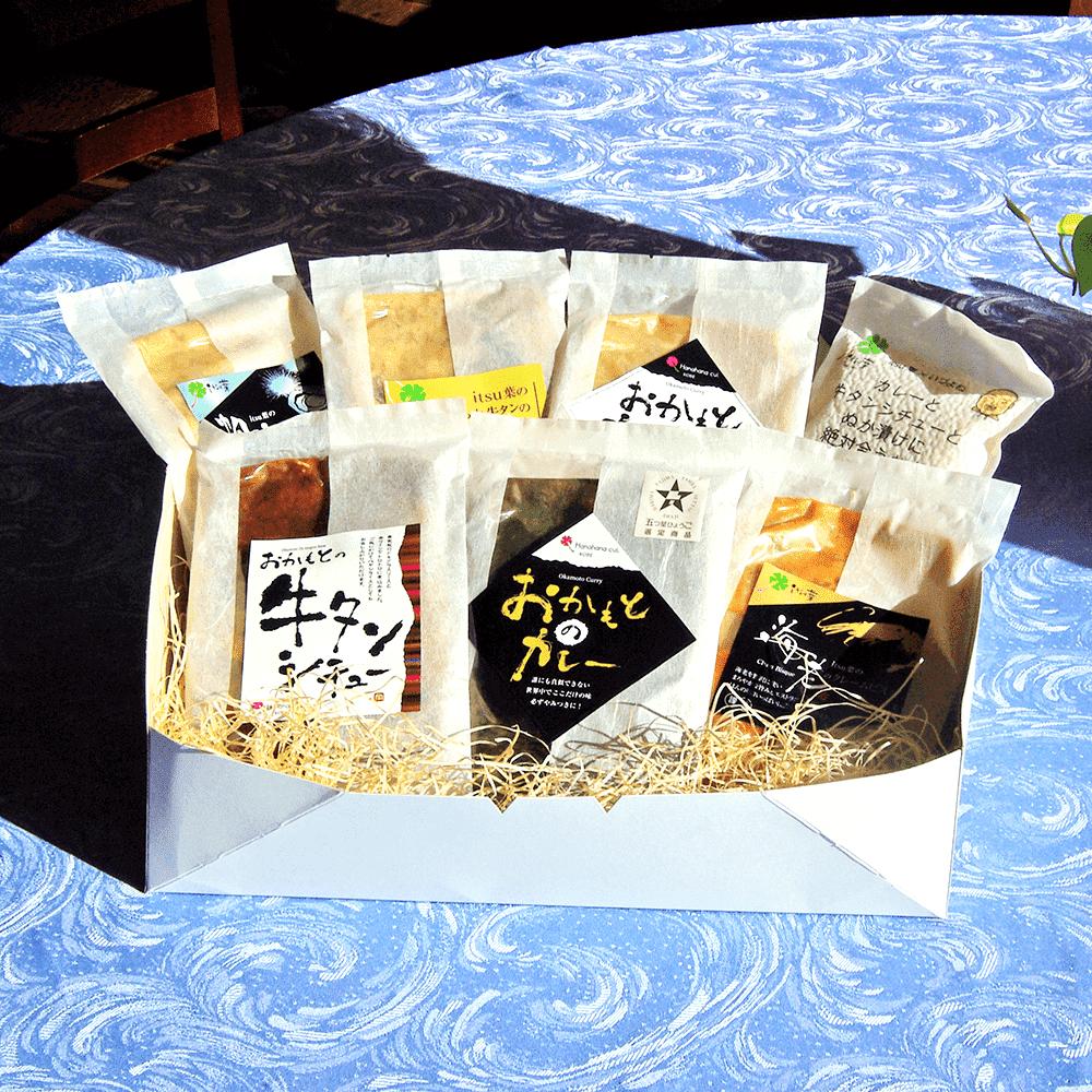 itsu葉のレトルト商品全6種とお米のセット