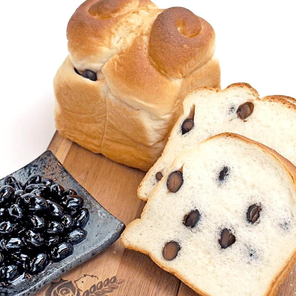神戸麦の星 食パン1斤(黒豆・プレーン・オーガニックマスカットレーズン)【パン以外の商品との同時購入不可】