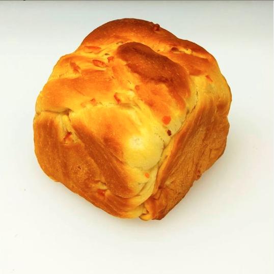 オレンジピール食パン