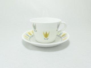 ロータス(Lotus)コーヒーカップ&ソーサー