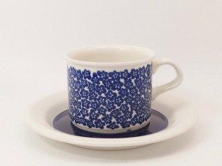 ファエンツァ(Faenza)ブルー / コーヒーカップ&ソーサー