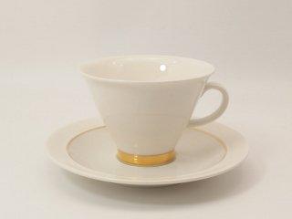 ハレキン(Harlekin) ゴールド(Gold) / コーヒーカップ&ソーサー *複数在庫