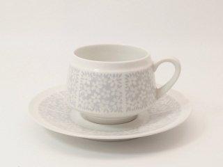 ピトゥシ (Pitsi) グレー / コーヒーカップ&ソーサー
