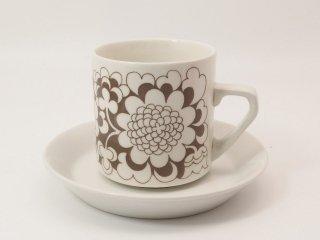 ガーデニア(Gardenia) / コーヒーカップ&ソーサー