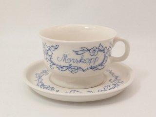 Morskoppu お母さんのカップ  / カップ&ソーサー 【お取り置き品】