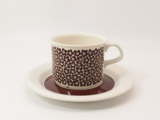 ファエンツァ(Faenza)ブラウン / コーヒーカップ&ソーサー