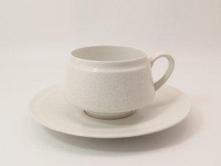 ピトゥシ (Pitsi) ホワイト / ティーカップ&ソーサー