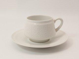 ピトゥシ (Pitsi) ホワイト / コーヒーカップ&ソーサー *複数在庫