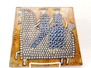 リサ・ラーソン(Lisa Larson) / UNIK Ryttare 陶板