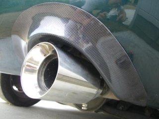 ユーノスロードスター NA6・8用 カーボンマフラーカバー