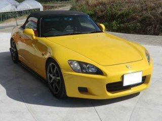 S2000用トヨシマクラフト製FRPサイドステップ