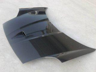 トヨシマクラフト製MR−S用ダクト付き平織カーボンボンネットフード