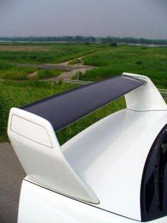 ランエボ7 トヨシマクラフト製平織りカーボンリアウイング