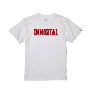<img class='new_mark_img1' src='https://img.shop-pro.jp/img/new/icons1.gif' style='border:none;display:inline;margin:0px;padding:0px;width:auto;' />Immortal CollegeロゴTシャツ*ホワイト 受注期間~2021年6月3日23:59まで