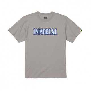 <img class='new_mark_img1' src='https://img.shop-pro.jp/img/new/icons1.gif' style='border:none;display:inline;margin:0px;padding:0px;width:auto;' />Immortal CollegeロゴTシャツ*グレー 受注期間~2021年6月3日23:59まで