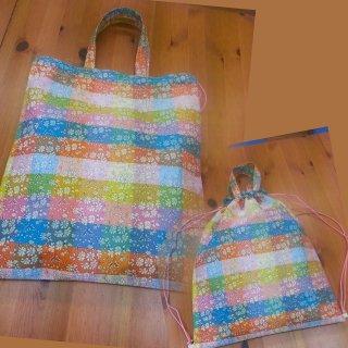 リバティリュック鞄