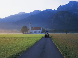 朝の光の中で(Germany,Schwangau)