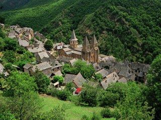 コンク村(France,Conques)