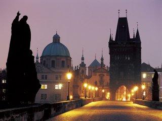 早朝のカレル橋(Czech Republic,Praha)
