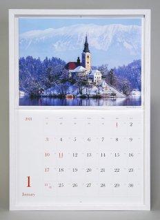 カレンダー額(ホワイト)