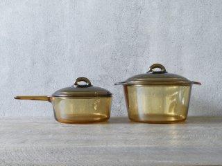 フランスのガラス鍋