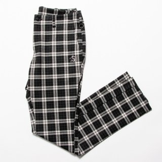 <img class='new_mark_img1' src='https://img.shop-pro.jp/img/new/icons13.gif' style='border:none;display:inline;margin:0px;padding:0px;width:auto;' />Soft Slim-fit Slacks, Tartan Check