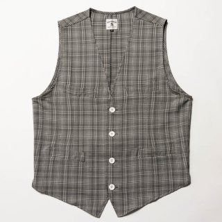 <img class='new_mark_img1' src='https://img.shop-pro.jp/img/new/icons13.gif' style='border:none;display:inline;margin:0px;padding:0px;width:auto;' />Country Gentlemen's Vest, Glen Check
