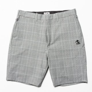 Tapered Shorts, Glen Check