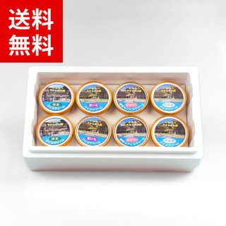 かわなべアイスクリーム8個セット