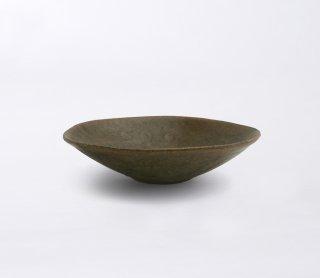 錆釉 平鉢