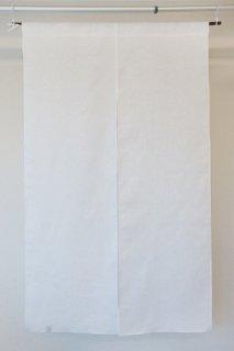 無地染め麻「白」 縦150cm×横90cm