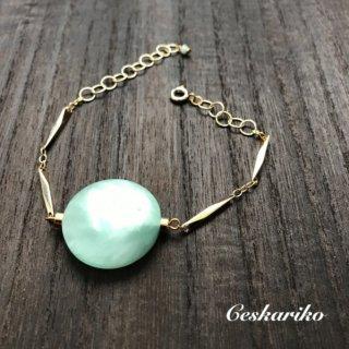 BIGstone bracelet〜green〜