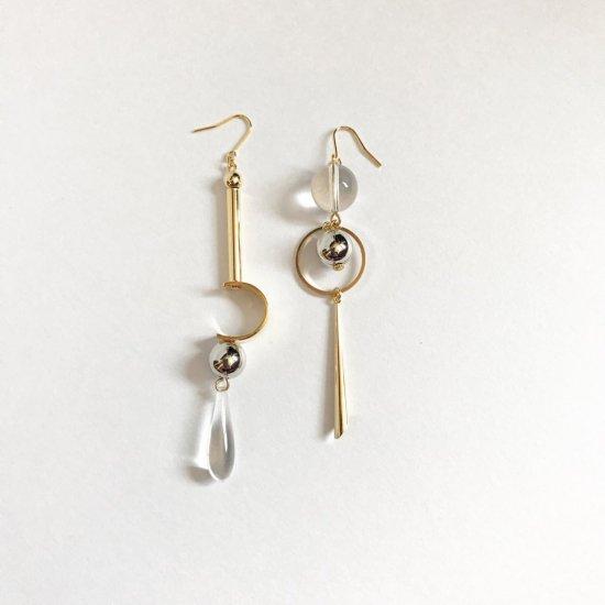 Cosmos asymmetry pirece/earring