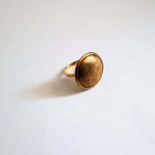 Vintagstyle button ring