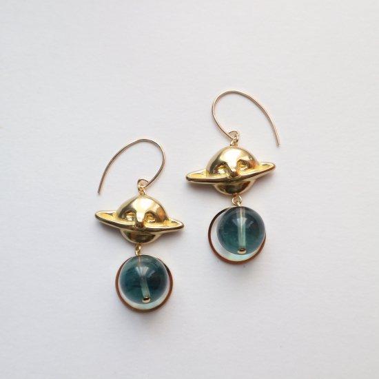 メランコリアと青い石〜土星のピアス〜