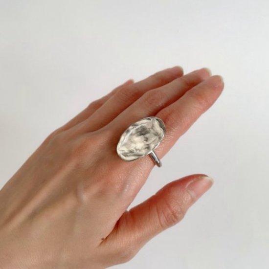 文字の消された石盤〜Silver ring(#9)〜