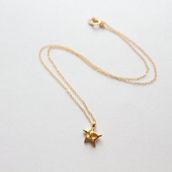 小さな小さな星のネックレス
