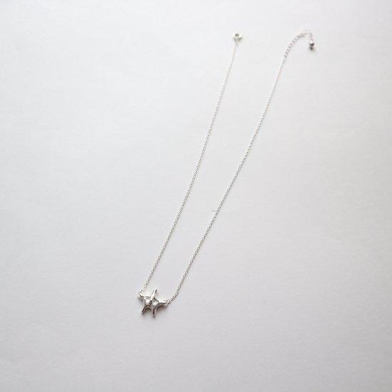 【Silver925】人形劇の中の星のネックレス