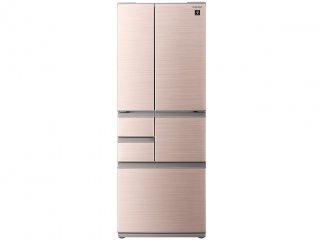 シャープ SJ-F503G-T 6ドア冷蔵庫(502L・フレンチドア) シャインブラウン 4974019172873
