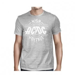 AC/DC High Voltage Sports Gray, Tシャツ
