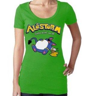 ALESTORM Drink em All, レディースTシャツ