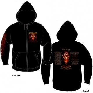 BLIND GUARDIAN Red Dragon, Zip-Upパーカー